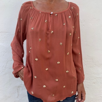 NEW!  BLUSA INDIA